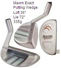 Maxim Exact Putting Wedge