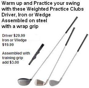 Weighted Practice Clubs