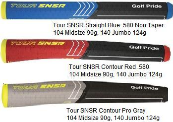 Golf Pride Tour SNSR Putter Grips