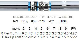 True Temper Multi-Step Lite Steel Shafts