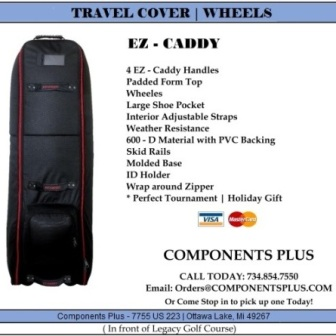 EZ - Caddy Travel Cover with Wheels